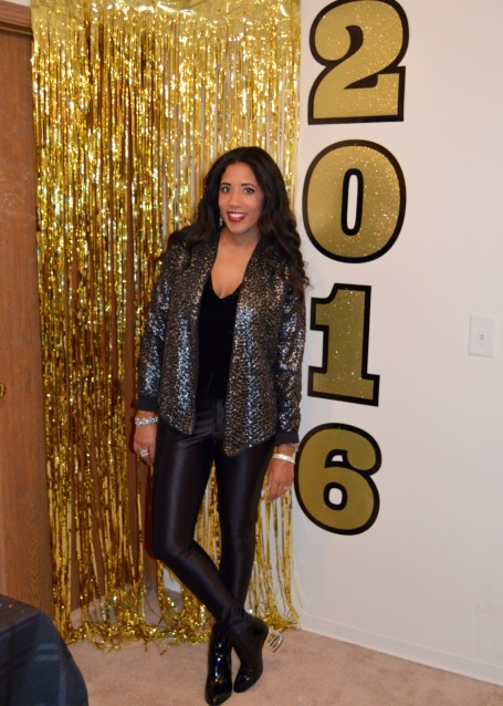 Casual New Year's Eve Look