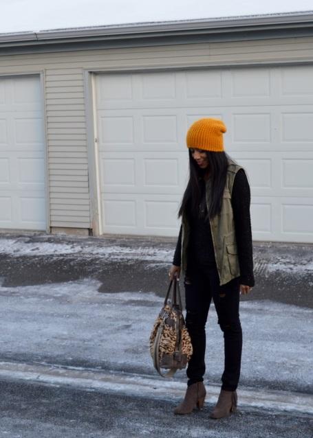 Marigold Slouchy Hat