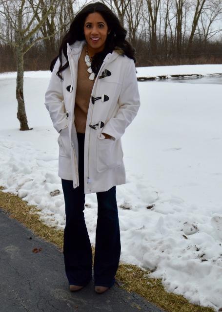 Winter White Jacket