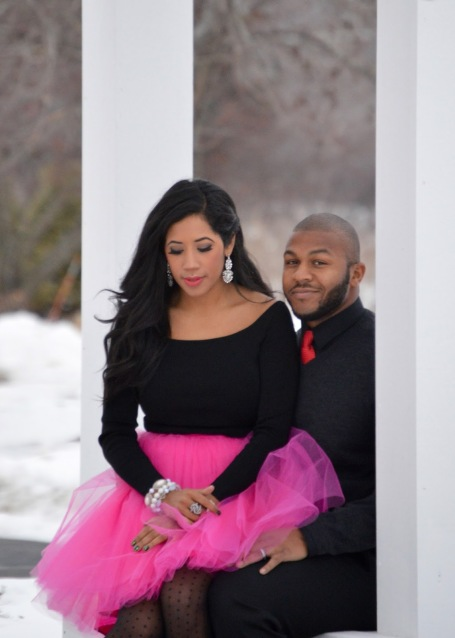 His + Hers Valentine's Day Look