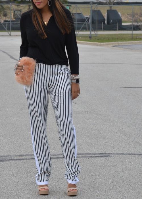 J Brand Silk Chiffon Pants