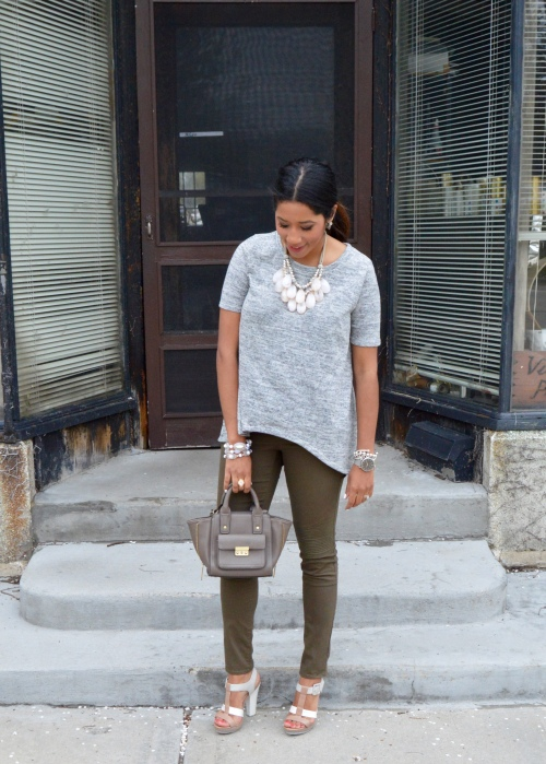 H&M Olive Green Pants