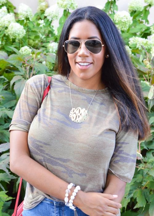 Topshop Camo Shirt