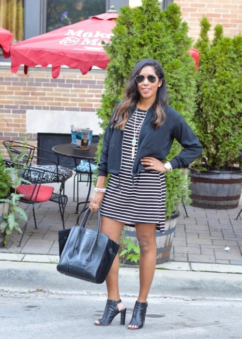 Glamorous Striped Dress