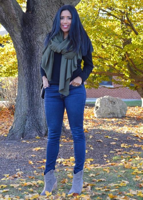 7FAM High Waisted Jeans