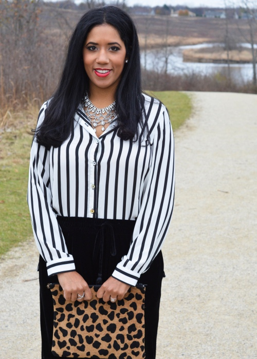 Cupio Striped blouse