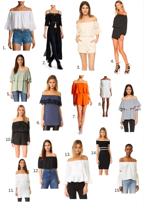 Off The Shoulder Trends