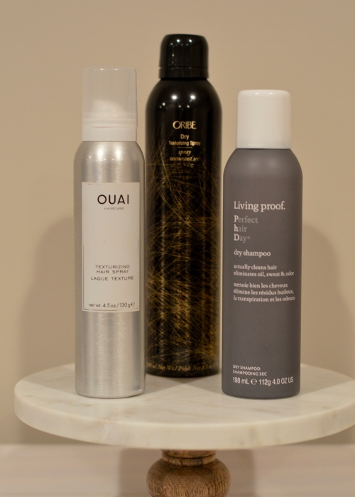 Dry hair care products
