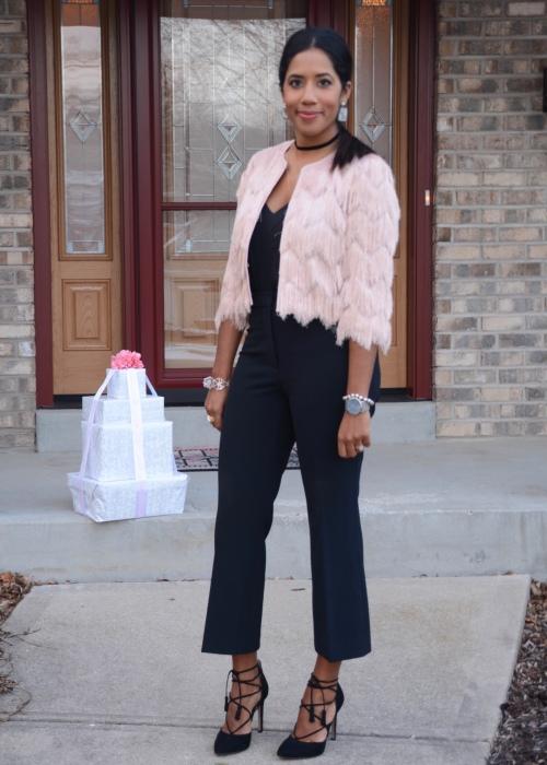 Pink Fringe jacket